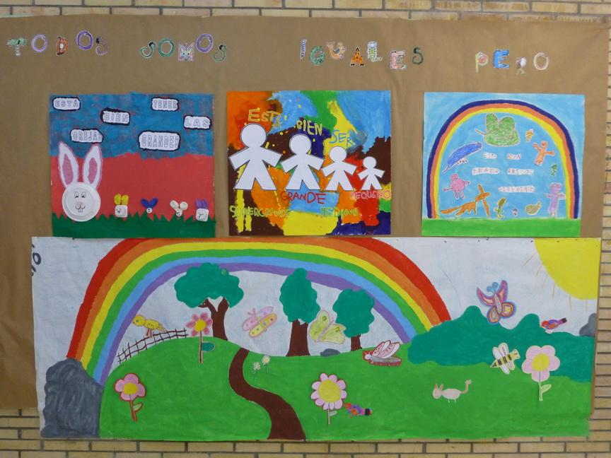 Rincón De Infantil Día De La Paz: OS PEQUENOS DO VAL DO LEREZ
