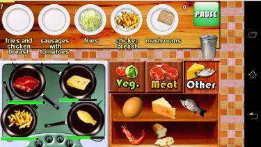 Game Memasak di Anroid Bistro Cook