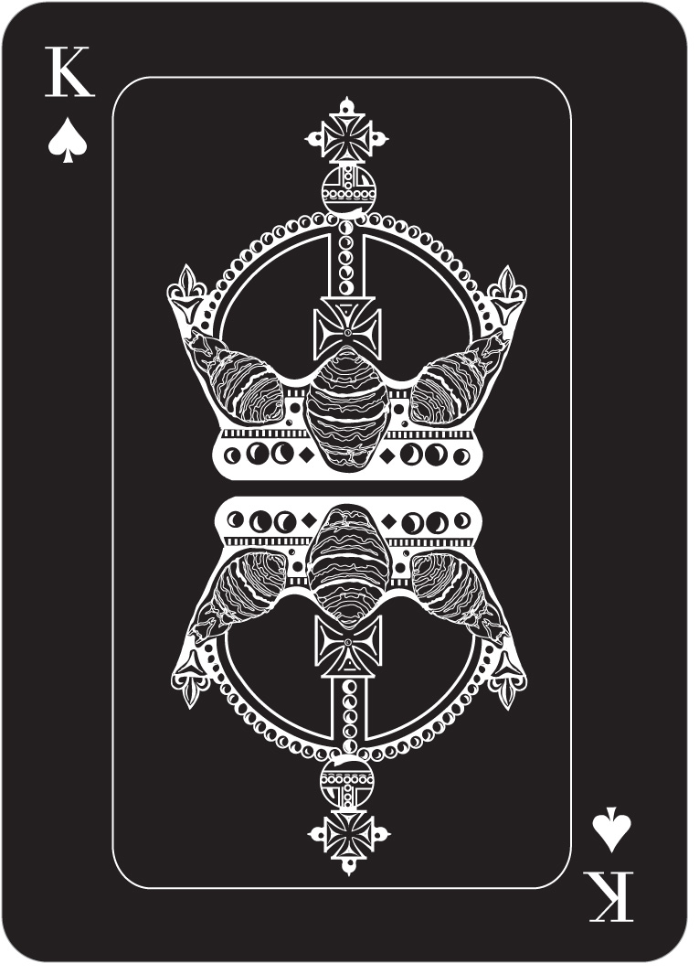 L O U D H U S H Playing cards
