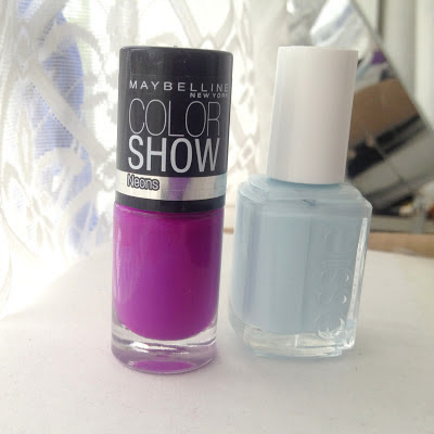 maybelline-fushia-fever-essie-borrowed-and-blue-neon-pastel