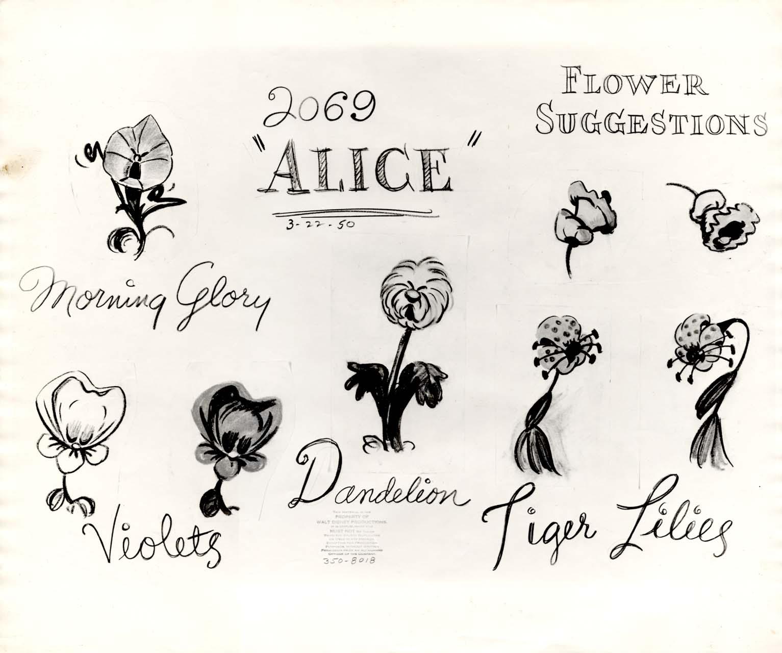 Vintage Disney Alice