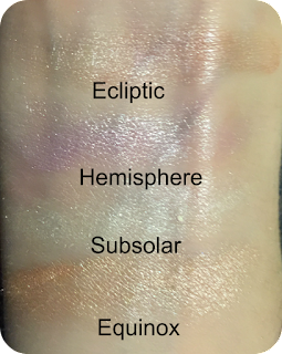 sleek highlighting palette solstice swatch