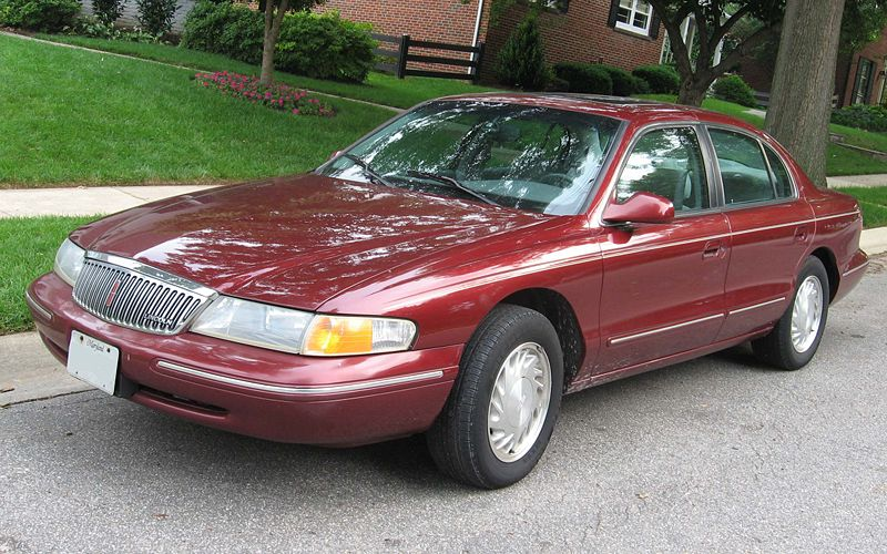 96 lincoln town Car Manual on