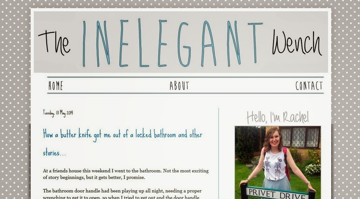 The Inelegant Wench Blog