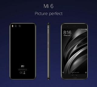 Xiaomi Mi 6 dual camera 12MP