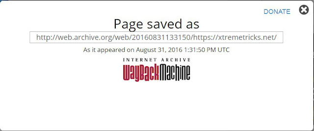 how to use wayback machine