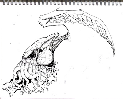 SCHEME 9: CTHULHU Sketch.
