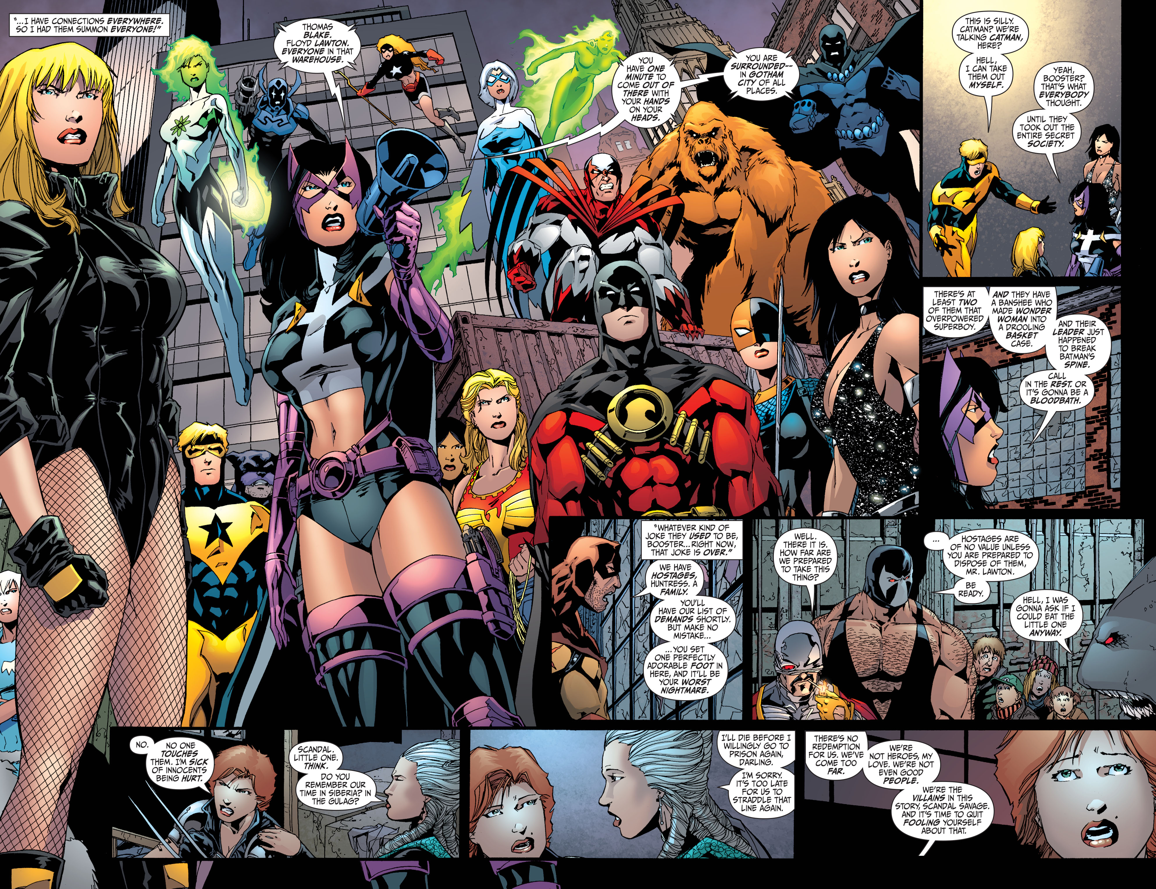 Read online Secret Six (2008) comic -  Issue #36 - 9
