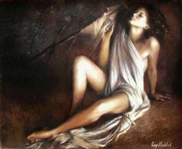Биография в картинах. Anny Maddock