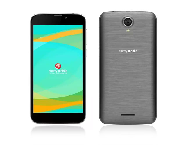 Cherry mobile flare a3 in gray features the cherry mobile