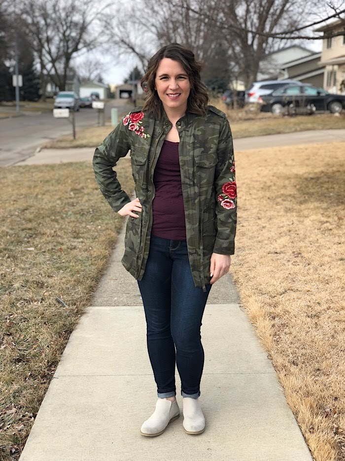 ec65d0275dd4c bybmg: Camo Embroidered Jacket and My Favorite Jeans