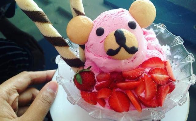 Nomnom Ice Krim Cafe, Hidangan yang Instagenic