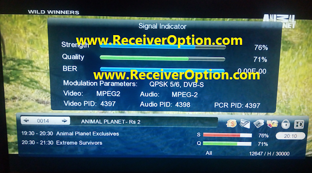 GX6605S HW203.00.018 HD RECEIVER CLINE OK NEW SOFTWARE