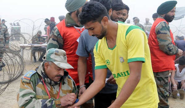 Peddapalli  Army Rally, Indian Army Rally, Open Bharti Rally