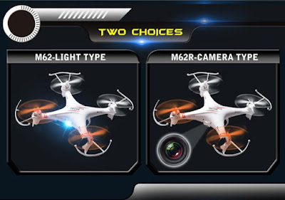 Spesifikasi Drone Skytech M62R - GudangDrone