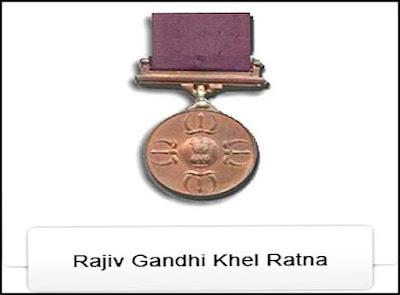 Rajiv Gandhi Khel Ratna