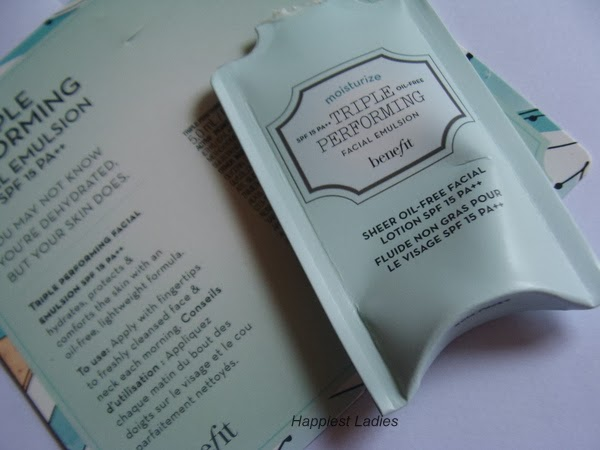 Triple Performing Face Moisturizer SPF 15 by Benefit #10