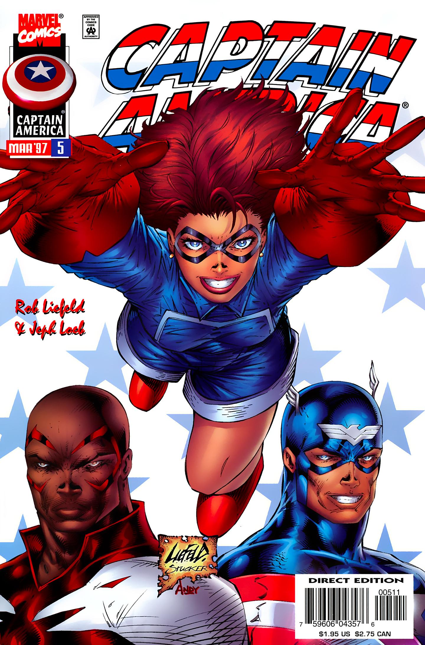 Captain America (1996) Issue #5 #5 - English 2