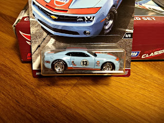 Hot Wheels RLC Car Culture  copo camaro gulf