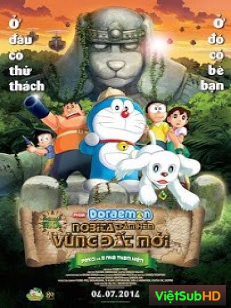 Nobita Thám Hiểm Vùng Đất Mới
