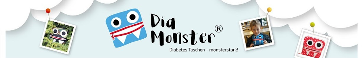 DiaMonster - Diabetes Taschen monsterstark!