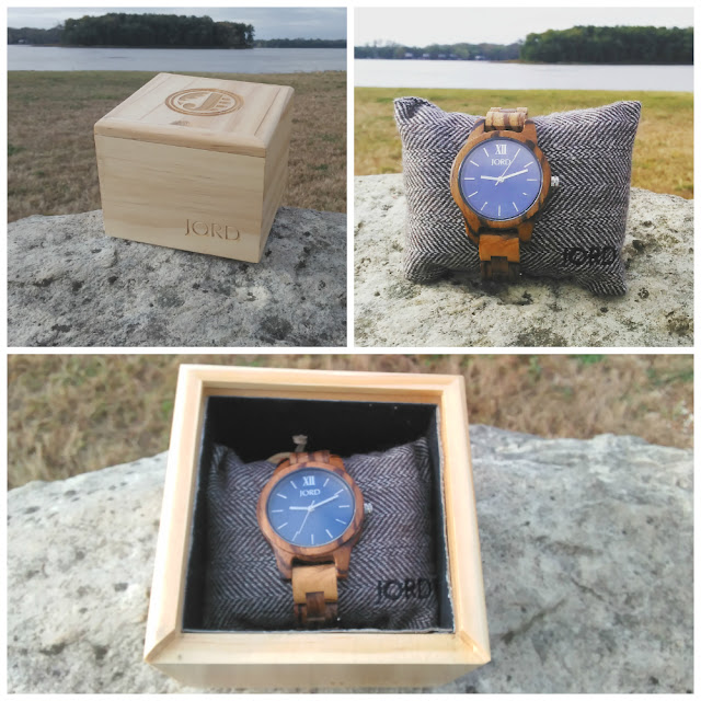 jord wood watch frankie series in box