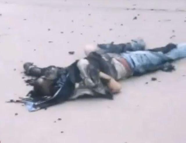 اهواز جوانی که با نارنجک توسط مزدوران حکومتی  در قیام کشته شد