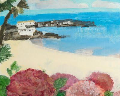 Porthminster Autumn by Emma Jeffryes