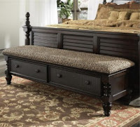 Click Style Vanity Benches