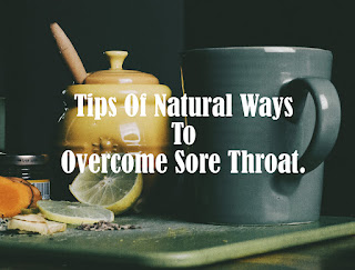 A safer way to deal with a sore throat without medication