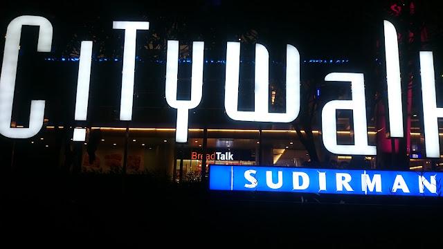 City Walk, Sudirman - Image: Author