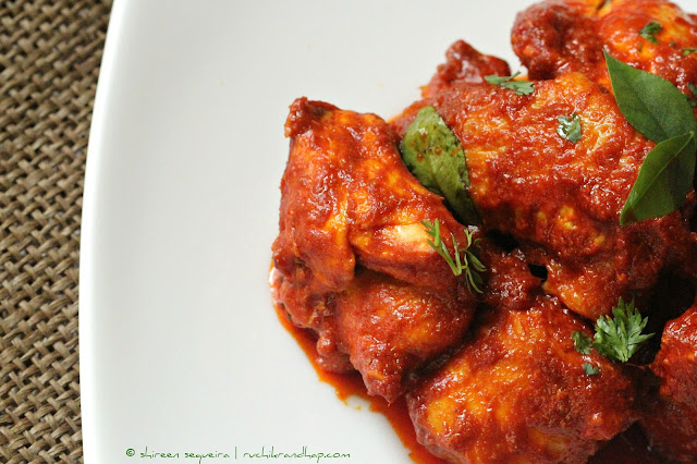 Chicken Ghee Roast Hebbar S Kitchen