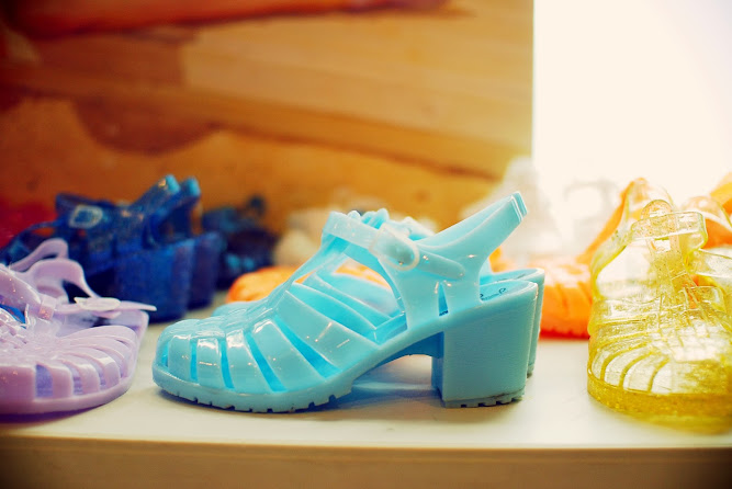 Jellybeans Shoes Pastel Heels 2013