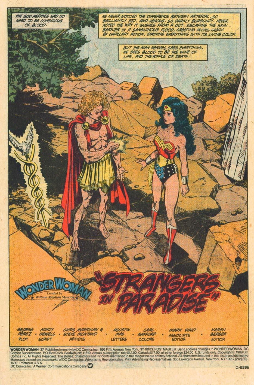 Read online Wonder Woman (1987) comic -  Issue #37 - 6