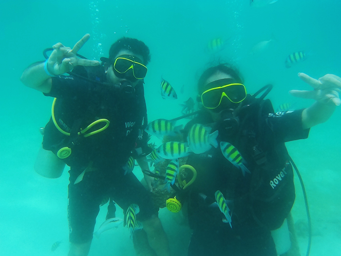 Scuba diving in Phuket, Thailand