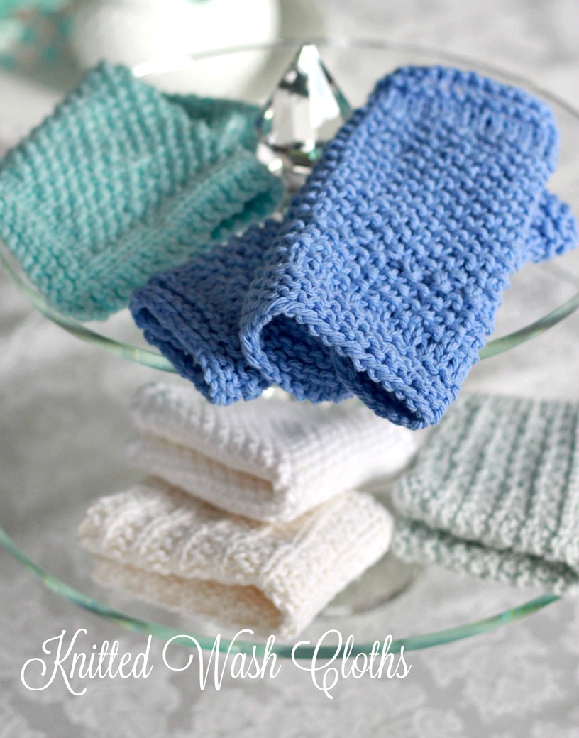 Pretty Knitted Washcloths & Cool Doctor Who Washcloths | Grateful ...