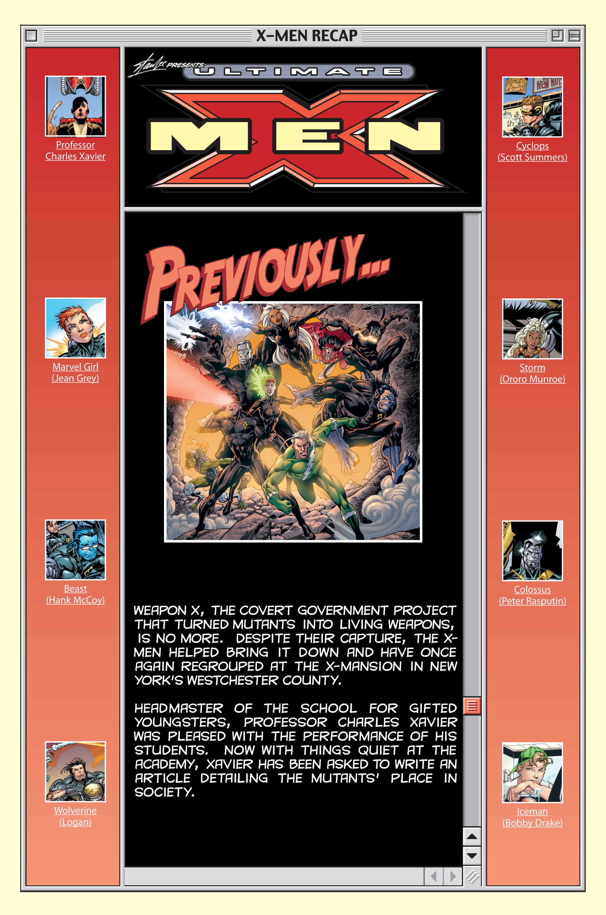 Read online Ultimate X-Men comic -  Issue #15 - 2