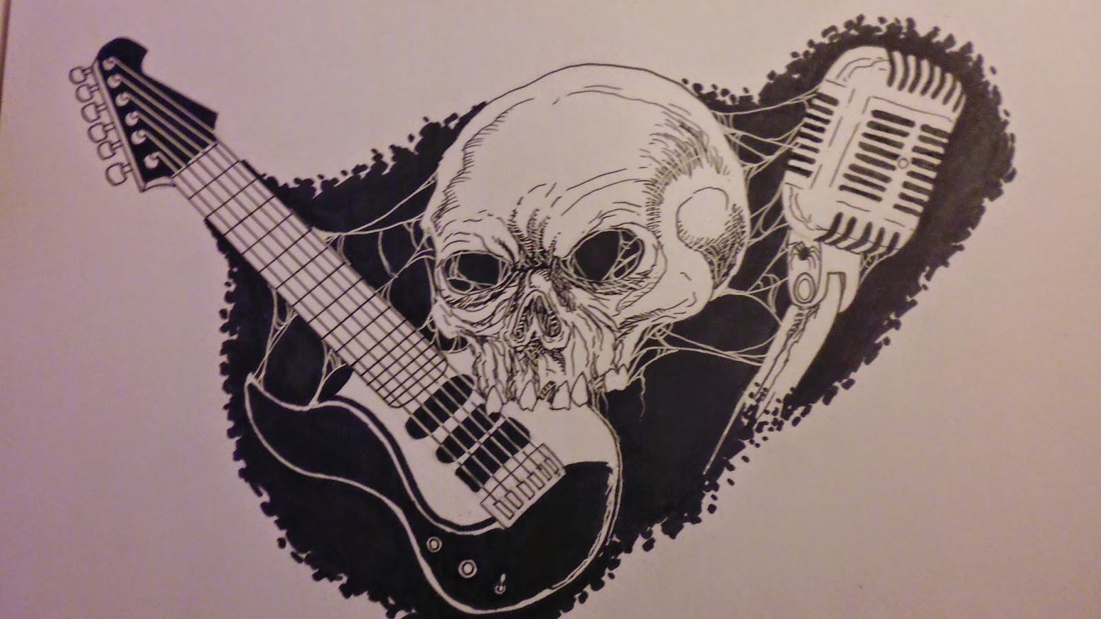 Horror Skull Band logo