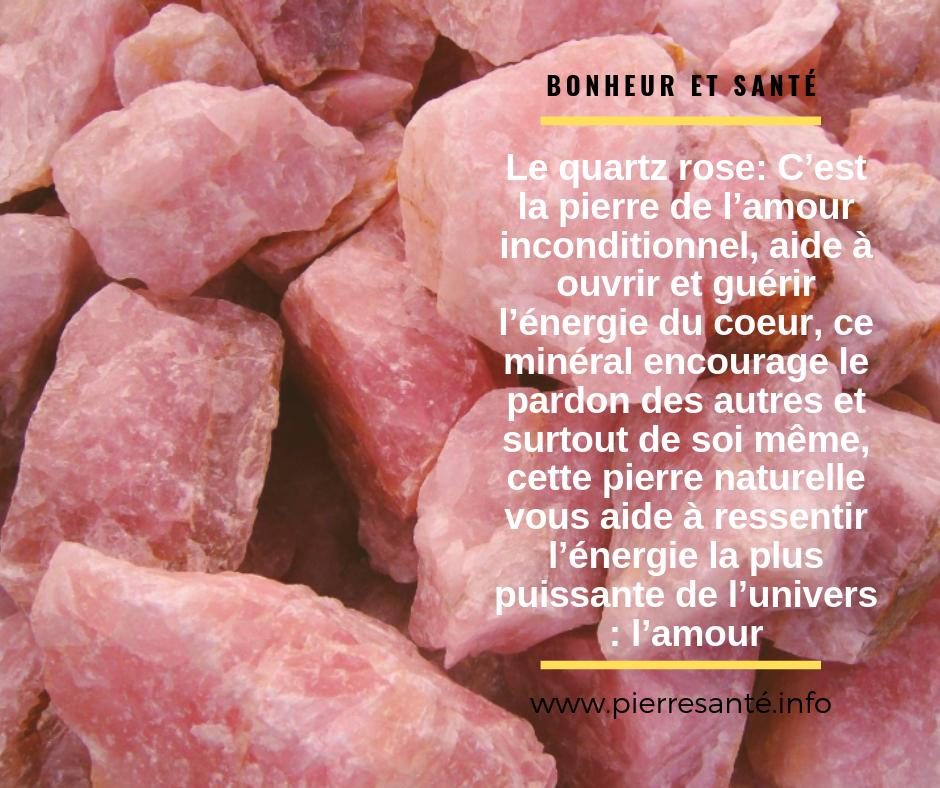 Le quartz rose, une pierre du chakra du cœur