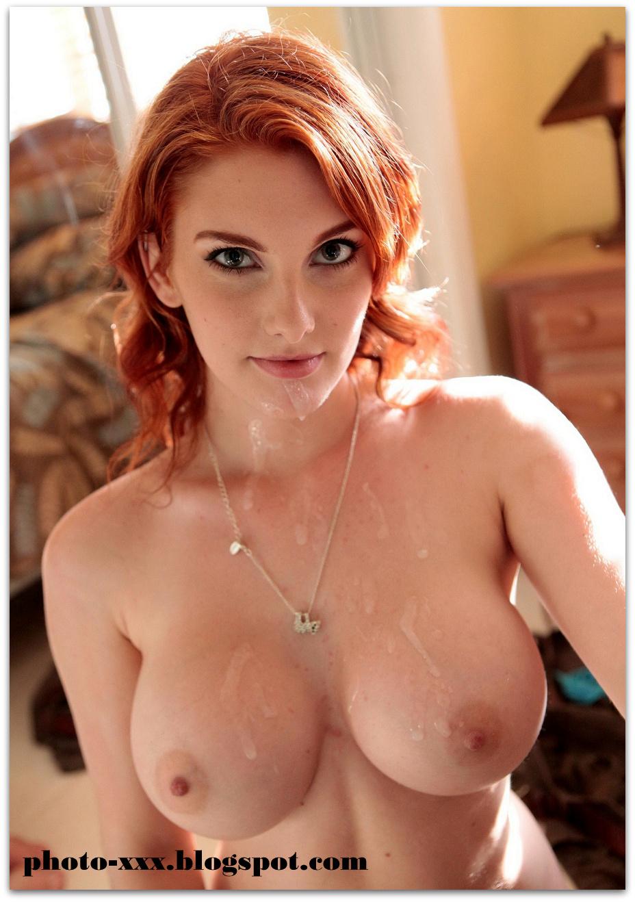 Busty Redhead Pov