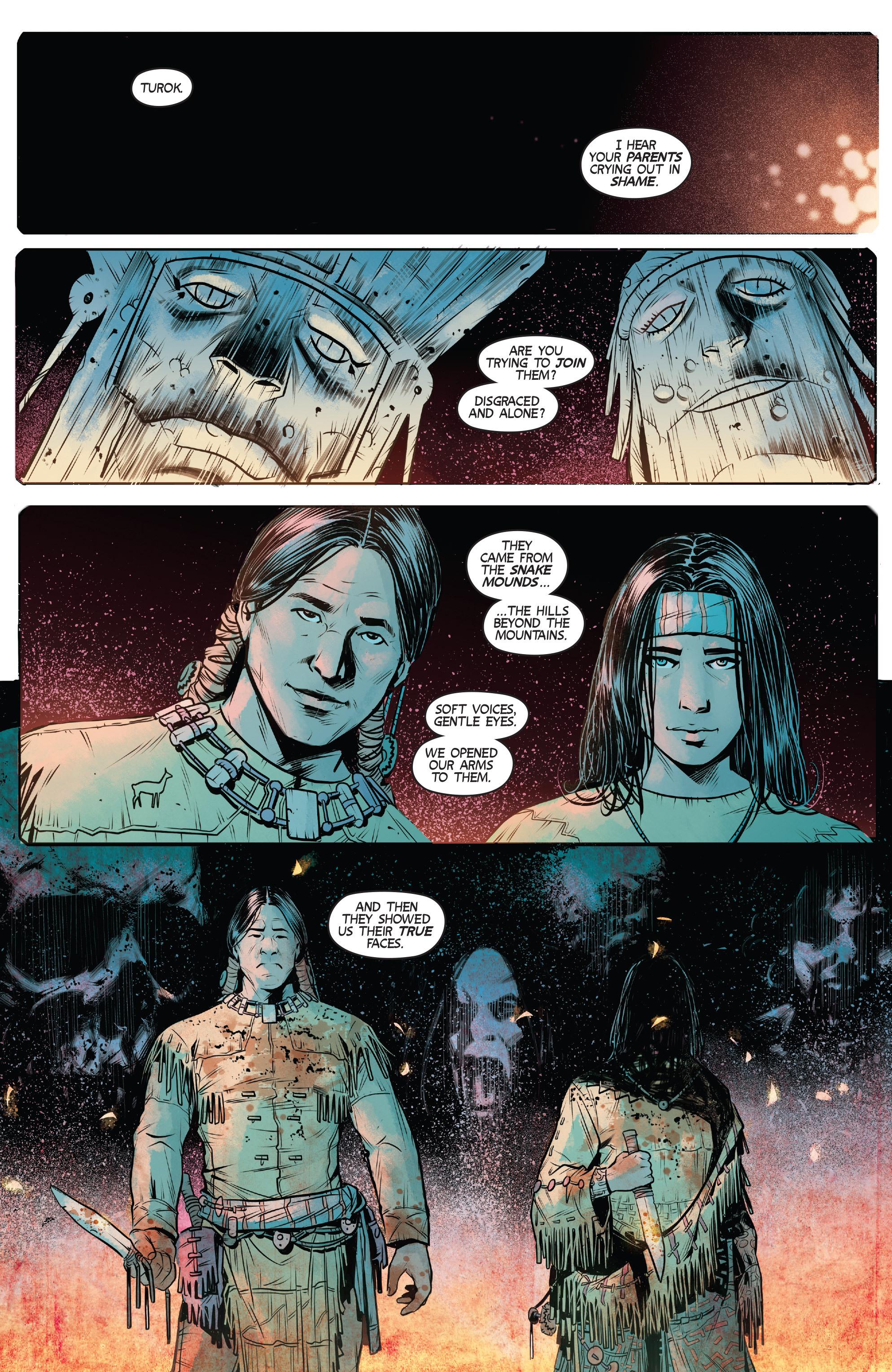 Read online Turok: Dinosaur Hunter (2014) comic -  Issue # _TPB 1 - 12
