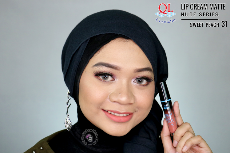 QL Lip Cream Matte 31 Sweet Peach