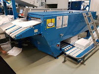 Olma Towelfolder Ubifold Super 3 Stackers Year 2002