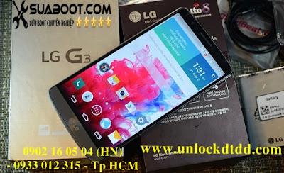 T Q Sửa lỗi mất boot, unbrick, repair LG G3 f400k, f400I