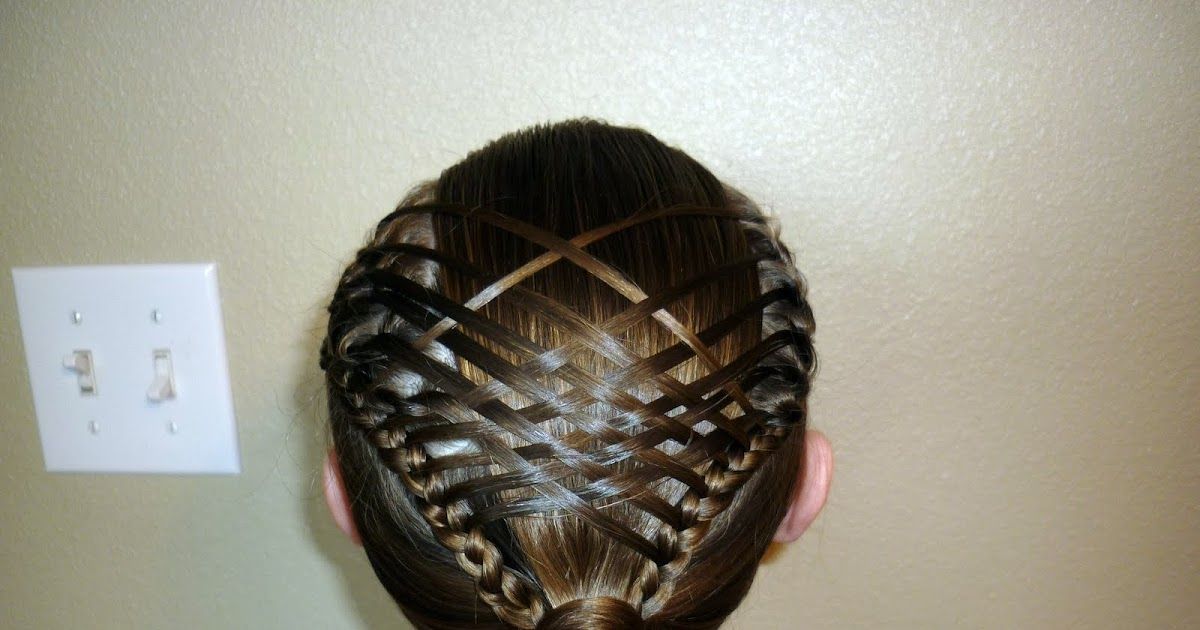 Woven French Braid Ponytail Hairstyles For Girls
