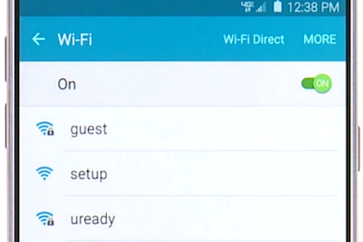 How to Connect Wifi on Samsung Galaxy Note 5