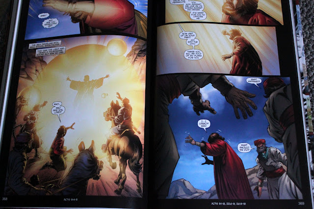 See what we love about the new graphic novel version of the Bible from Kingstone Comics