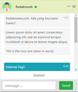 Dalam postingan ini aku memberi Anda desain chat box keren memakai boostrap  Cara Membuat Chat Box Keren dengan Bootstrap