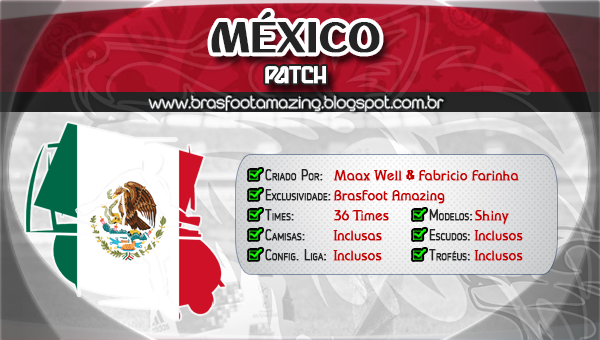 patch do mexico brasfoot 2013