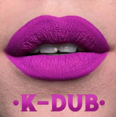 kat von d Everlasting Liquid Lipstick lip swatch k-dub